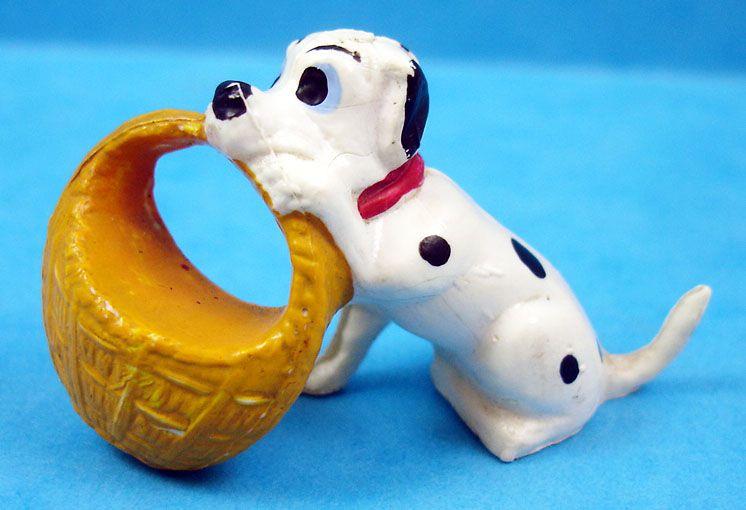 Les 101 dalmatiens - Figurine Jim - Bébé avec panier
