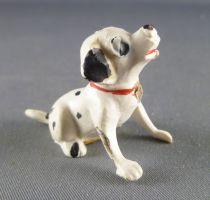 Les 101 dalmatiens - Figurine Jim - Chiot assis tête levée (collier rouge)