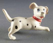 Les 101 dalmatiens - Figurine Jim - Chiot courant tête tournée vers la droite (collier rouge)