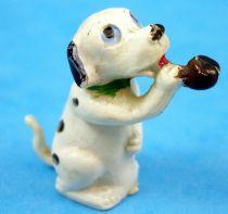 Les 101 dalmatiens - Figurine Jim - Chiot fumant la pipe