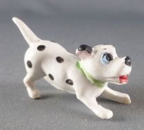 Les 101 dalmatiens - Figurine Jim - Chiot pret à bondir (collier vert)