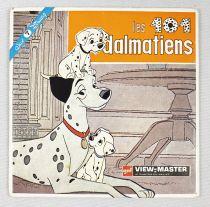 Les 101 Dalmatiens - View-Master (GAF) - Pochette de 3 disques (21 images stéréo)