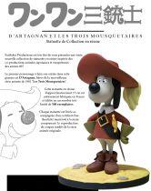Les 3 Mousquetaires - Statuette 15cm D\'Artagnan - Fariboles