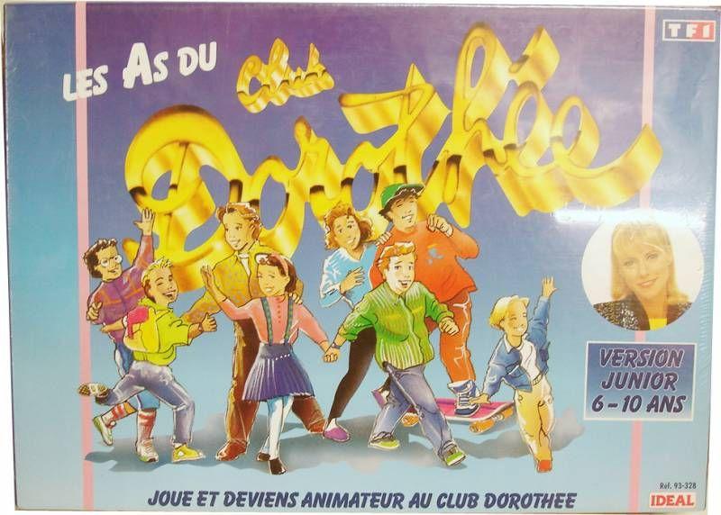 Les As du Club Dorothée - Jeu de Plateau - TF1 Idéal 1991