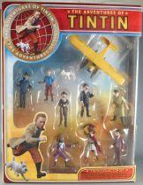 Les Aventures de Tintin - Coffret Collector Plastoy - 10 Figurines Pvc