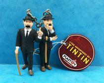 Les Aventures de Tintin - Porte-clés Plastoy - Dupond & Dupont