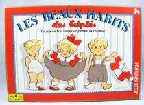 Les Beaux Habits des Triplés - Jeux Nathan 1992