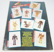 Les Chevaliers du Zodiaque - Collecteur de vignettes SFC 1990 (complet sans poster)