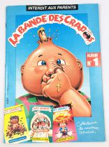Les Crados - Collecteur de vignettes Avimages 1988 - La Bande des Crados n°1 (incomplet)