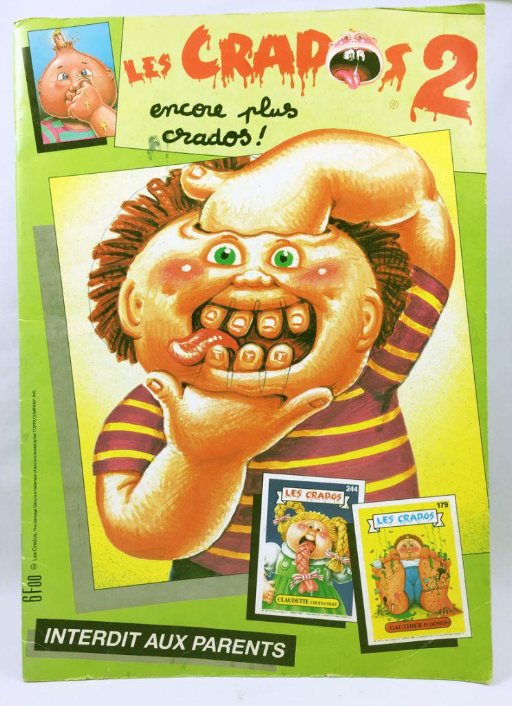 Les Crados - Collecteur de vignettes Avimages 1988 - Les Crados n°2 (incomplet)