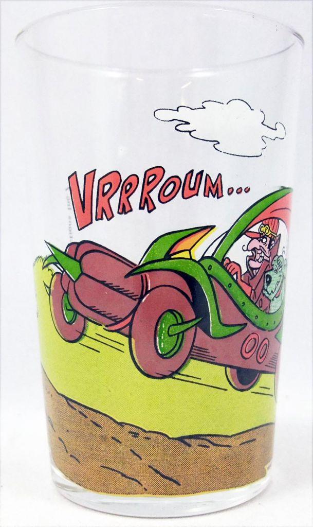 """Les Fous du Volant - Verre à Moutarde 1977 - Satanas et Diabolo dans la \""""Démone Double Zéro Grand Sport\"""""""