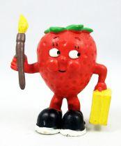 Les Fruittis - Figurine PVC Maia Borges - Fraise