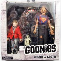 Les Goonies - NECA - Chunk & Sloth (Choco & Cinoque) - Figurines Retro 20cm