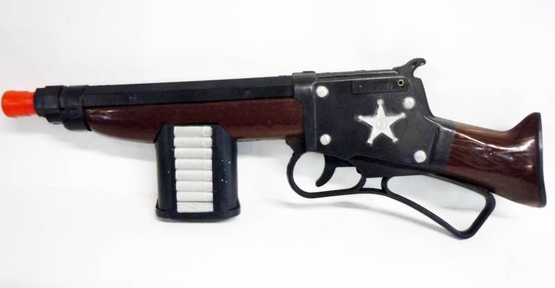 Les Incorruptibles - Pistolet Mitrailleur Electrique des \'\'Incorruptibles\'\' - France Jouet Ref. 1063