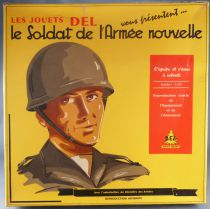 Les Jouets Del - The Soldier of New Army - Mint Set of 6 Paratrooper Figures 1:25