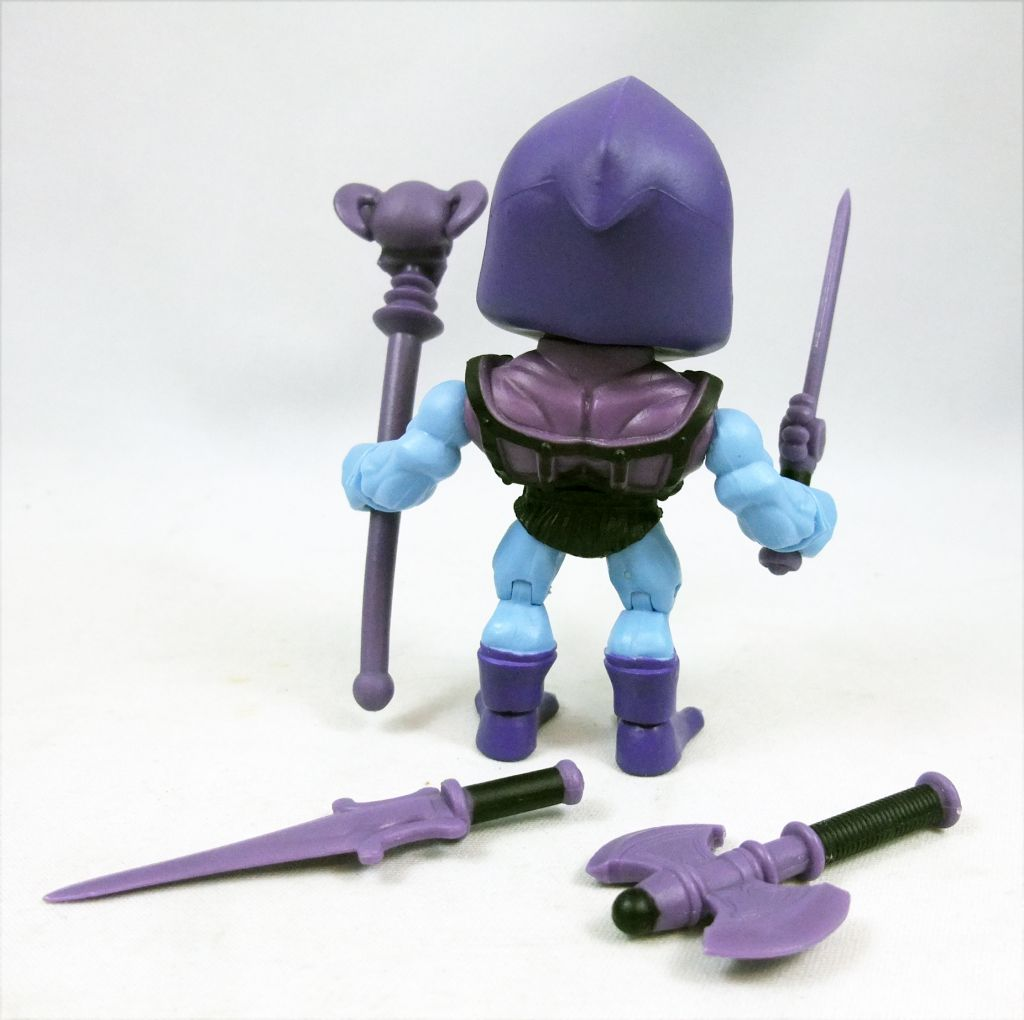 "Les Maitres de l\'Univers - Action-Vinyl - Battle Armor Skeletor ""wave 2\"" - The Loyal Subjects"