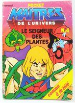 Les Maitres de l\'Univers - BD - Eurédif - Pocket Mensuel n°4 : Le seigneur des plantes