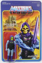 "Les Maitres de l\'Univers - Figurine 10cm Super7 - Battle Armor Skeletor ""damaged variant\"""