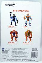 """Les Maitres de l\'Univers - Figurine 10cm Super7 - Beast Man \""""Weapons Pak colors\"""""""
