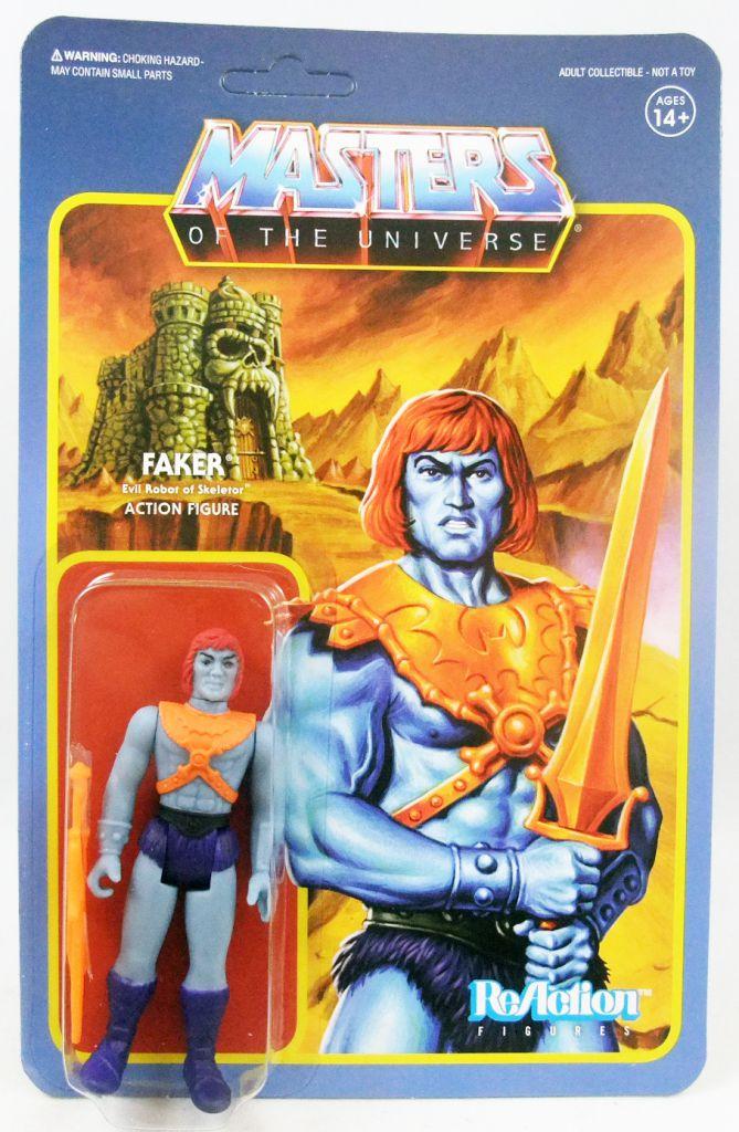 Les Maitres de l\'Univers - Figurine 10cm Super7 - Faker