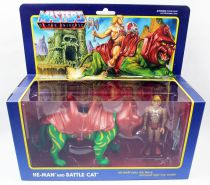 Les Maitres de l\'Univers - Figurine 10cm Super7 - He-Man & Battle Cat