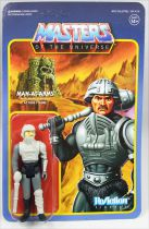 "Les Maitres de l\'Univers - Figurine 10cm Super7 - Man-At-Arms ""Movie colors\"""