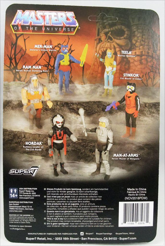 """Les Maitres de l\'Univers - Figurine 10cm Super7 - Man-At-Arms \""""Movie colors\"""""""