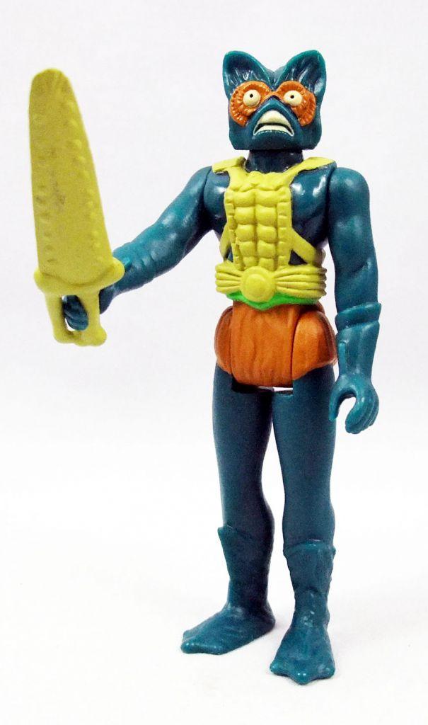 "Les Maitres de l\'Univers - Figurine 10cm Super7 - Mer-Man \""original toy colors\"" (loose)"