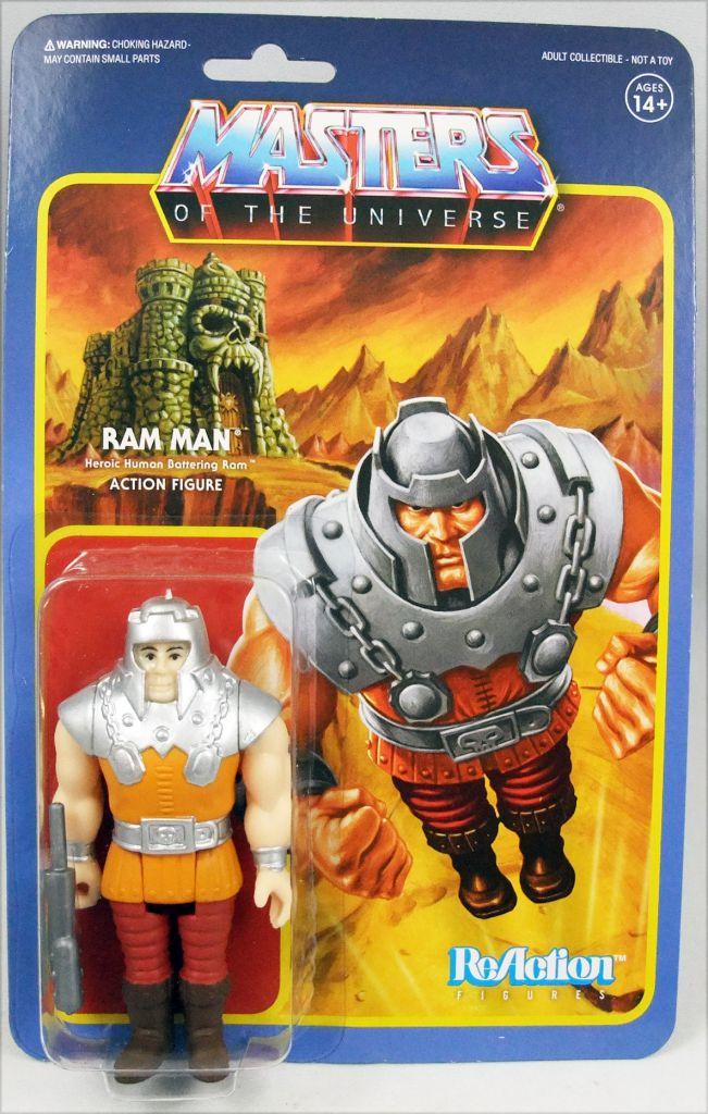 """Les Maitres de l\'Univers - Figurine 10cm Super7 - Ram Man \""""Mini comics colors\"""""""
