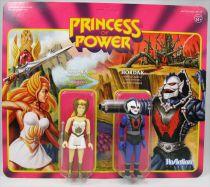 Les Maitres de l\'Univers - Figurine 10cm Super7 - She-Ra & Hordak (San Diego Comicon Exclusive)