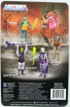 """Les Maitres de l\'Univers - Figurine 10cm Super7 - Skeletor \""""clear\"""""""