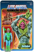 "Les Maitres de l\'Univers - Figurine 10cm Super7 - Skeletor ""Los Amos colors\"" (Unboxing Con Mexico Exclusive)"