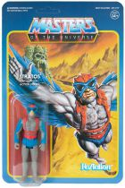 "Les Maitres de l\'Univers - Figurine 10cm Super7 - Stratos ""blue wings\"" (Power-Con Exclusive)"