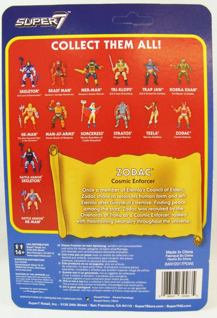 Les Maitres de l\'Univers - Figurine 10cm Super7 - Zodac