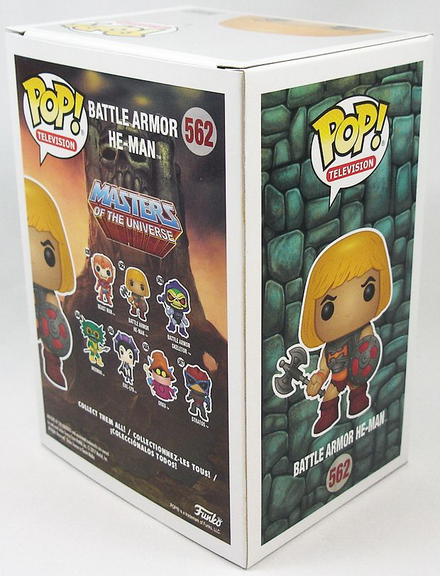Les Maitres de l\'Univers - Figurine vinyle Funko POP! - Battle Armor He-Man