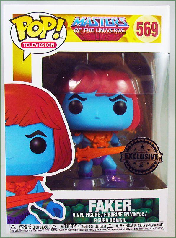 Les Maitres de l\'Univers - Figurine vinyle Funko POP! - Faker