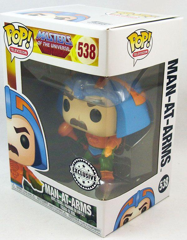 Les Maitres de l\'Univers - Figurine vinyle Funko POP! - Man-At-Arms