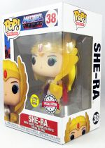 "Les Maitres de l\'Univers - Figurine vinyle Funko POP! - She-Ra ""Glows in the dark Special Edition\"" #38"