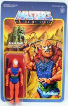 """Les Maitres de l\'Univers - Figurine10cm Super7 - Beast Man \""""LEO toy colors\"""""""