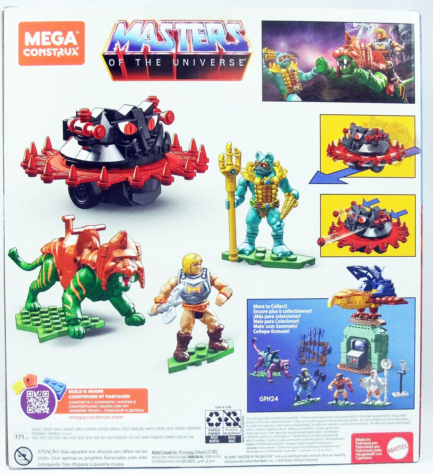 Les Maitres de l\'Univers - Mega Construx - Battle Cat vs. Roton