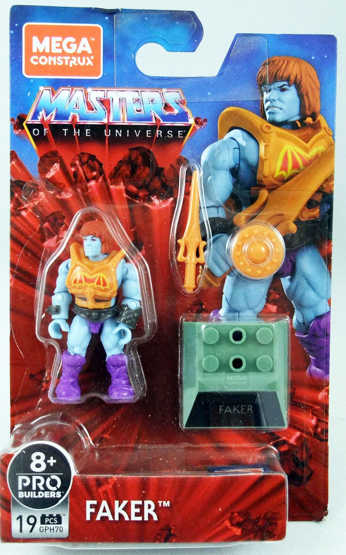 Les Maitres de l\'Univers - Mega Construx Heroes - Battle Armor Faker