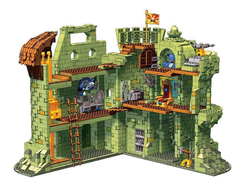 Les Maitres de l\'Univers - Mega Construx Heroes - Castle Grayskull