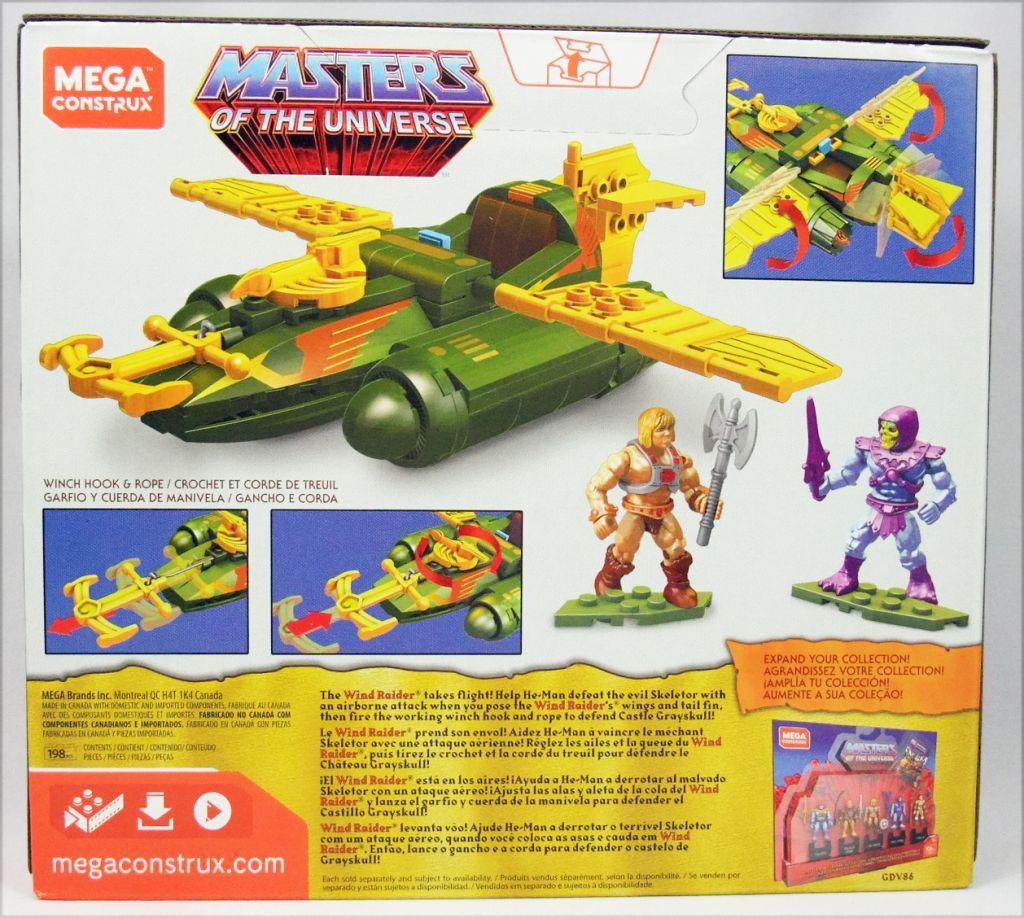 Les Maitres de l\'Univers - Mega Construx Heroes - Wind Raider Attack set