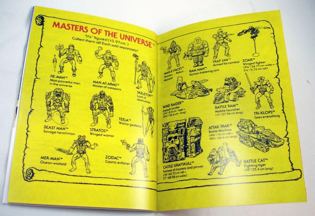 Les Maitres de l\'Univers - Mini-Comic Edition de Luxe Musclor et l\'Epée du Pouvoir (3)