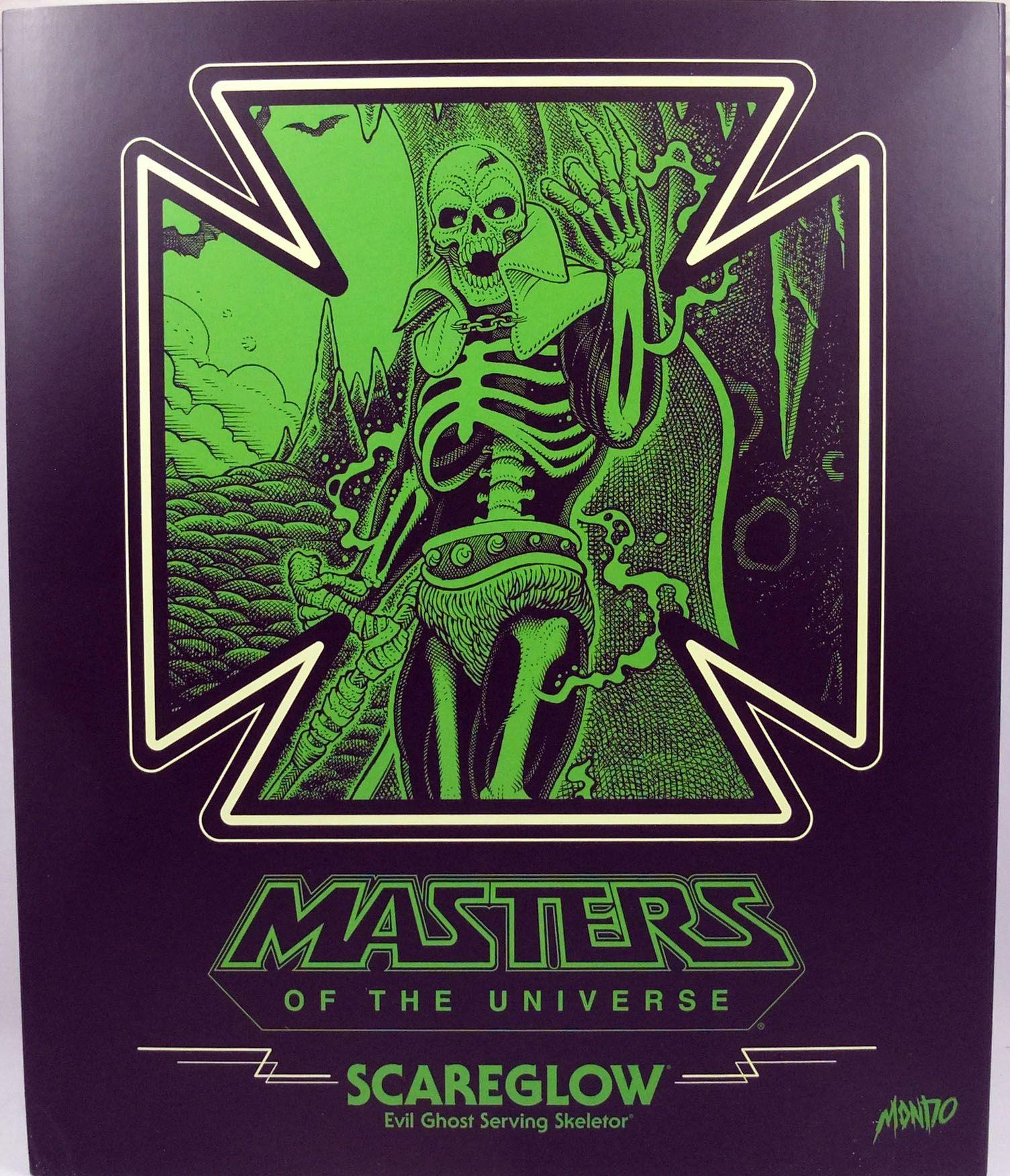 Les Maitres de l\'Univers - Mondo - Scareglow - Figurine échelle 1/6ème 30cm (Mondotees Exclusive)