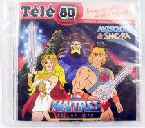 Les Maitres de l\'Univers : Musclor & She-Ra - CD audio Télé 80 - Bande originale remasterisée
