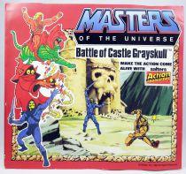 Les Maitres de l\'Univers - Planche de Transfers \'\'Battle of Castle Grayskull\'\'