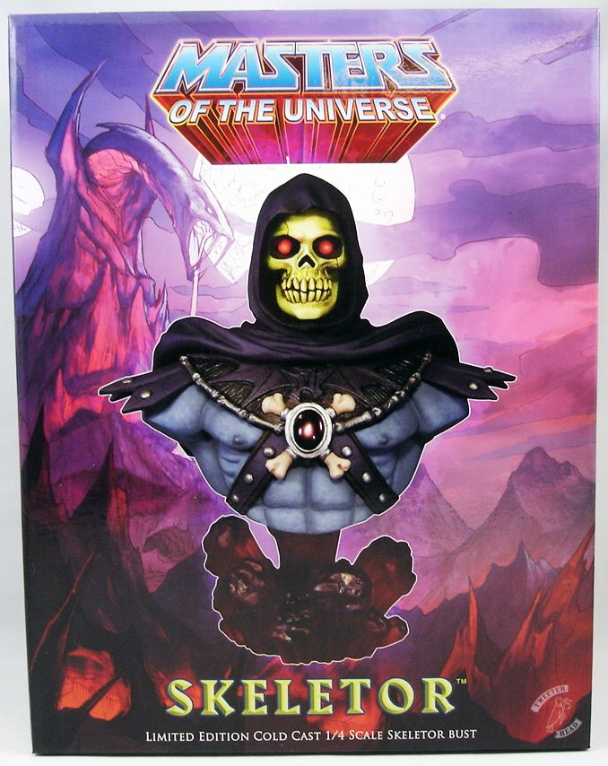 Maîtres de l/'Univers-Masters of the Universe-Castle Grayskull échelle-Excellent!