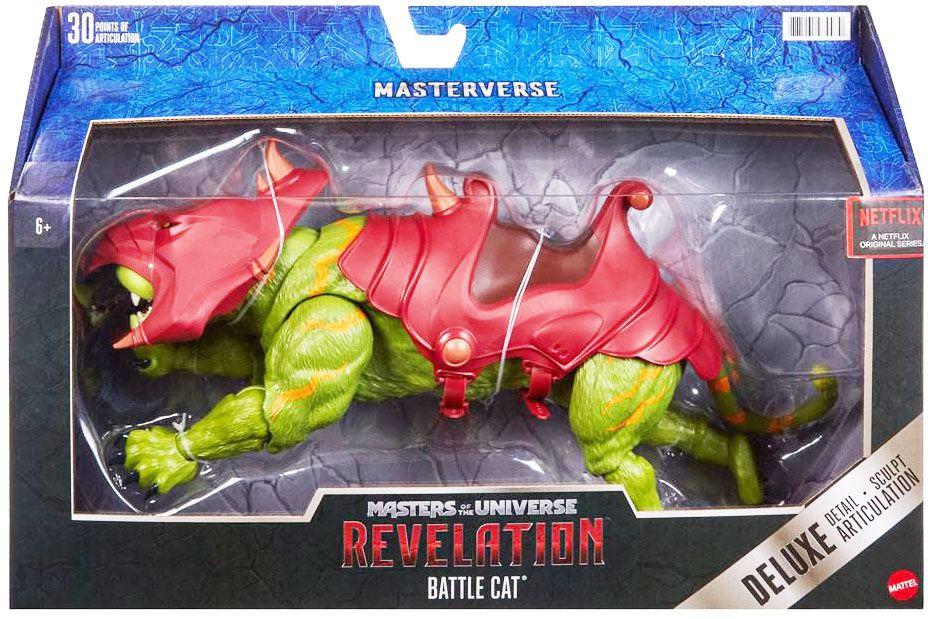 Les Maitres de l\'Univers Masterverse - Revelation Battle Cat