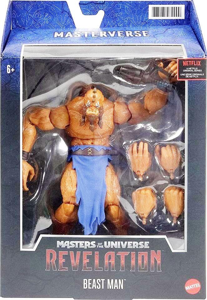 Les Maitres de l\'Univers Masterverse - Revelation Beast Man